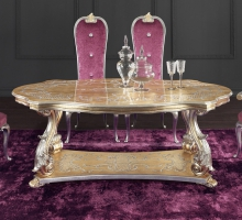 1666/W DINING TABLE
